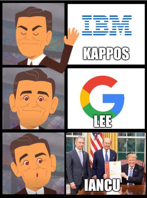 PragerU Reagan: Kappos, Lee, Iancu