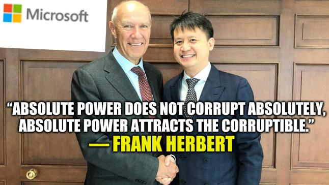 """""""Absolute power does not corrupt absolutely, absolute power attracts the corruptible.""""― Frank Herbert"""