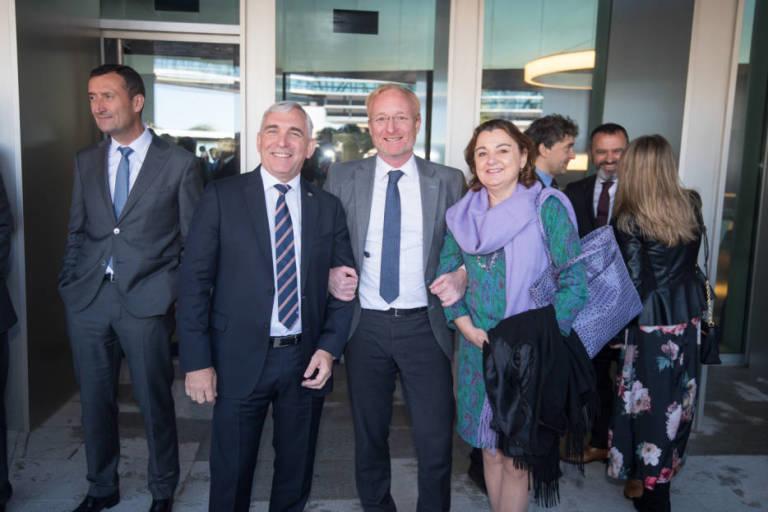 António Campinos, Christian Archambeau, and Patricia Garcia Escudero Marquez