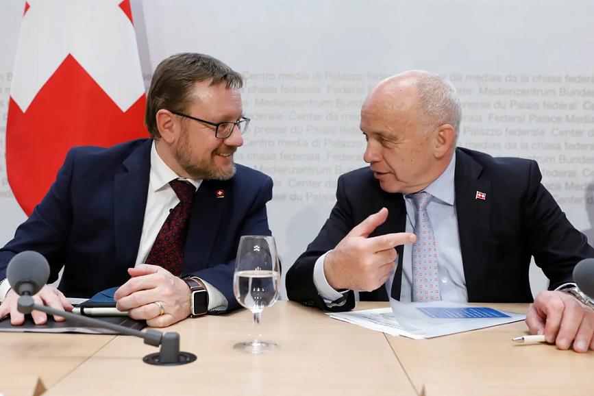 Federal Finance Minister Ueli Maurer