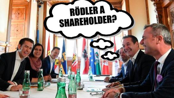 Austrian government: Rödler a shareholder?