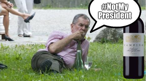 Austrian #NotMyPresident