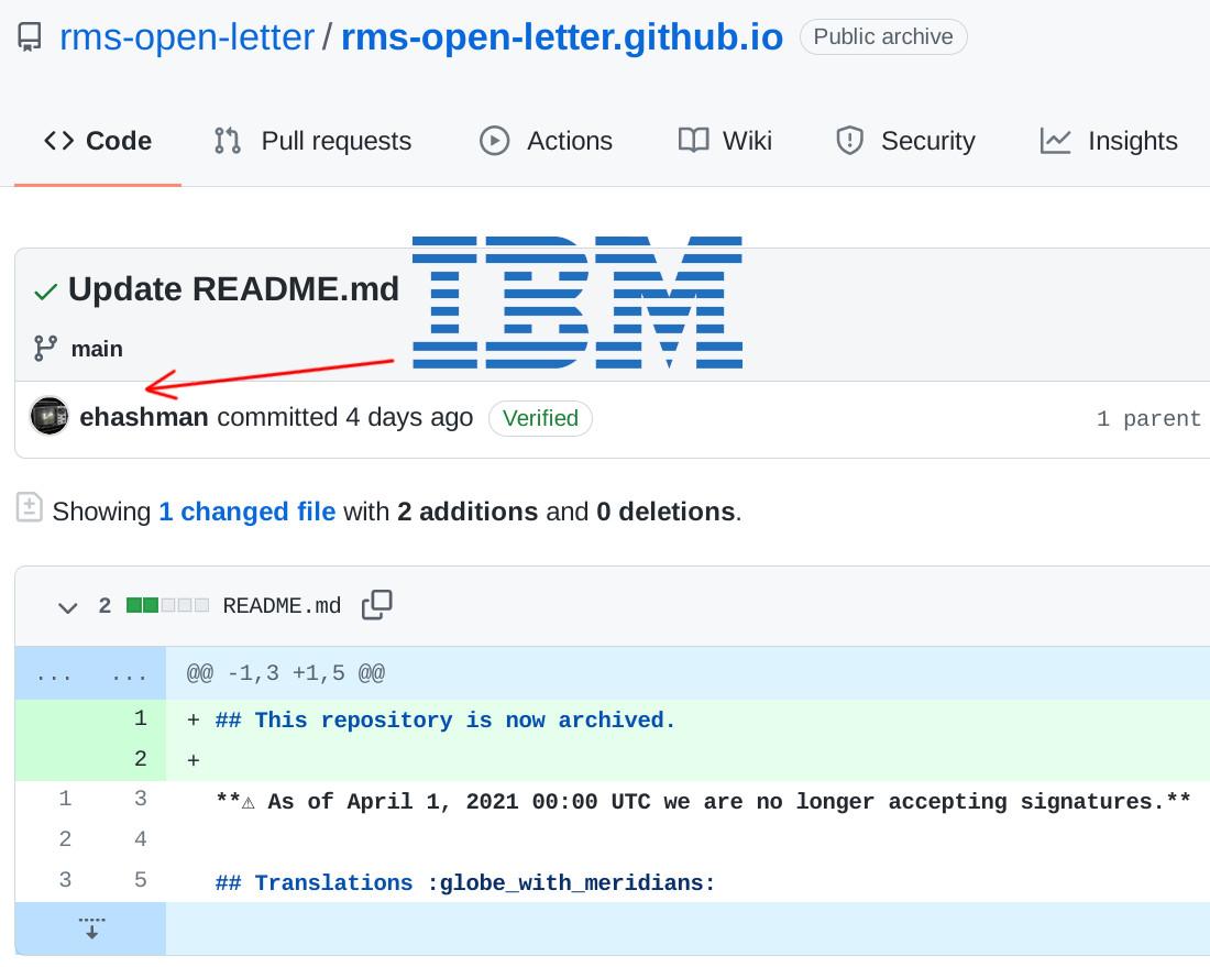 IBM fail