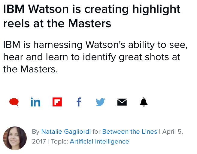 IBM masters