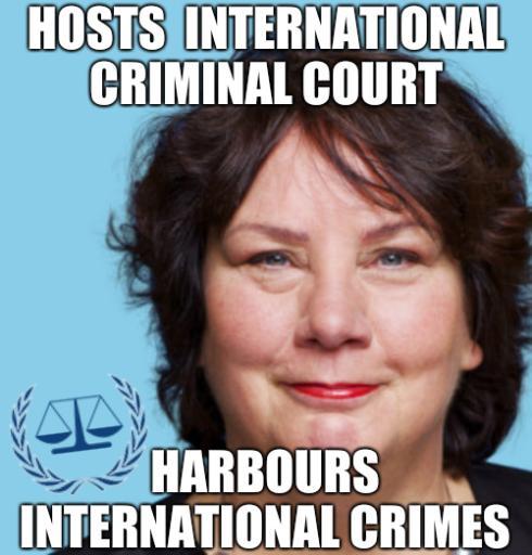 International Criminal Court meme
