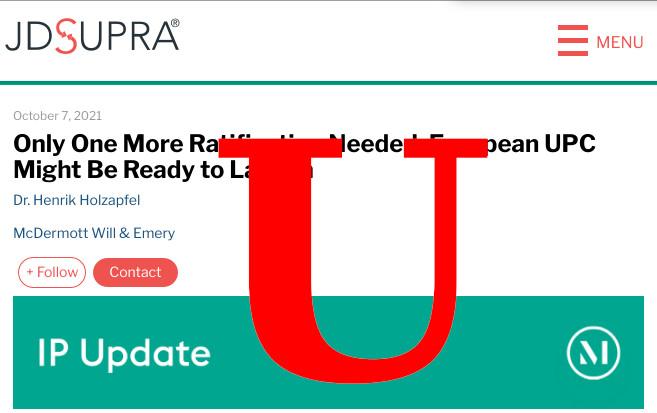 UPC fake news
