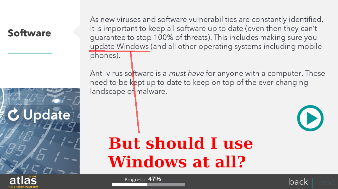 But should I use Windows at all?